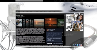 Mic Electronic Press Kit Theme