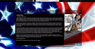 America Electronic Press Kit Theme
