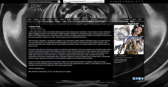 Black Water Electronic Press Kit Theme