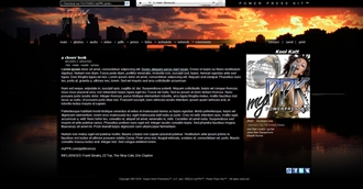 City Sunset Electronic Press Kit Theme