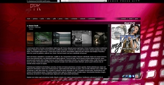 Contemporary Electronic Press Kit Theme