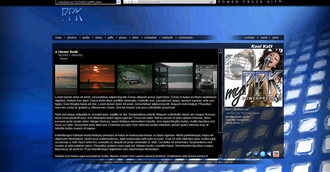 Contemporary 2 Electronic Press Kit Theme