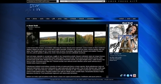 Contemporary 3 Electronic Press Kit Theme