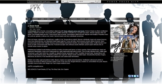 Corporate Electronic Press Kit Theme