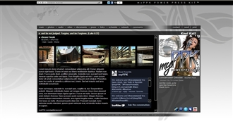 Cross Tribal II Electronic Press Kit Theme
