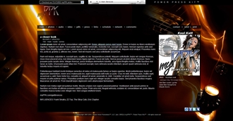 Electric Guitar Hot Electronic Press Kit Theme