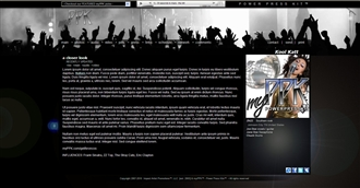 Fans Electronic Press Kit Theme