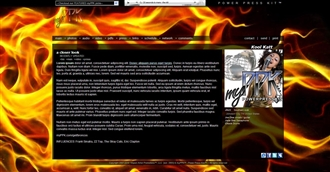 Flames Electronic Press Kit Theme