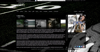 Football Electronic Press Kit Theme