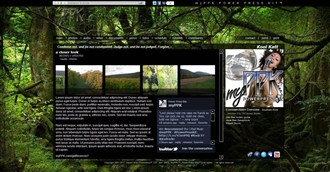Forest II Electronic Press Kit Theme