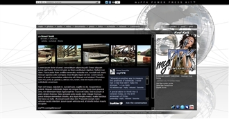 Global White Electronic Press Kit Theme