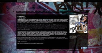 Grafitti Electronic Press Kit Theme