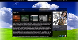Grass & Sky Electronic Press Kit Theme