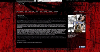 Grunge Electronic Press Kit Theme