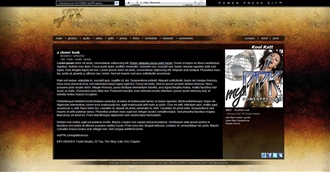 Grunge III Electronic Press Kit Theme