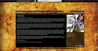Grunge V Electronic Press Kit Theme