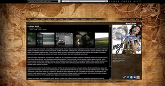 Grunge VI Electronic Press Kit Theme