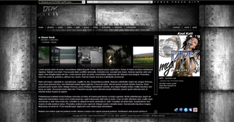 Heavy Metal Electronic Press Kit Theme