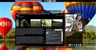 Hot Air Balloons Electronic Press Kit Theme