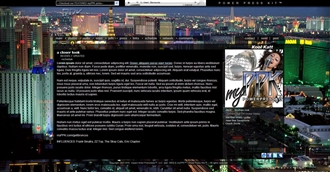 Las Vegas Electronic Press Kit Theme