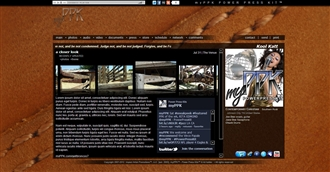 Leather II Electronic Press Kit Theme