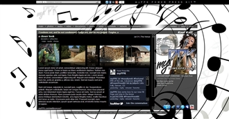 Music Notes Electronic Press Kit Theme