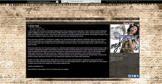 Old Parchment Electronic Press Kit Theme