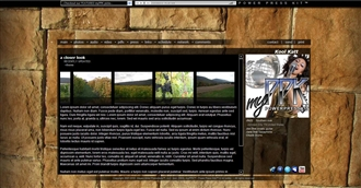 Old Stone Electronic Press Kit Theme