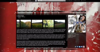 Paint Splatters II Electronic Press Kit Theme