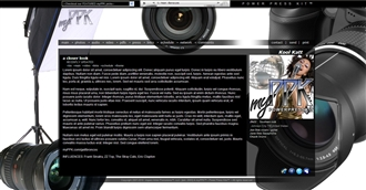 Photography Electronic Press Kit Theme
