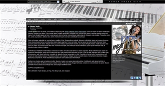 Piano Pure Electronic Press Kit Theme