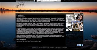 Sunset Beach Electronic Press Kit Theme
