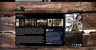 Weathered Wood III Electronic Press Kit Theme