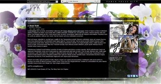 Wildflowers Electronic Press Kit Theme