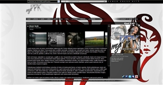Woman Tribal Electronic Press Kit Theme