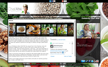 Chef Ahki Electronic Press Kit