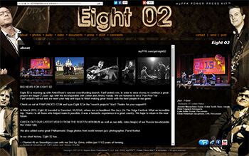 electronic press kits for bands