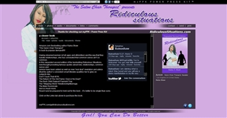 *Ridiculous Situations Electronic Press Kit Custom Design