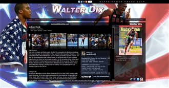 *Walter Dix Electronic Press Kit Custom Design
