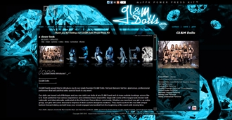 *GL&M DOLLS Electronic Press Kit Custom Design