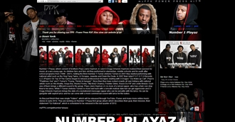 *Number 1 Playaz Electronic Press Kit Custom Design