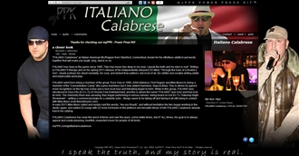 *Italino Calabrese Electronic Press Kit Custom Design