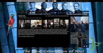 *The Next Generation of Soul Electronic Press Kit Custom Design