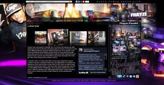 *Fhayze Electronic Press Kit Custom Design