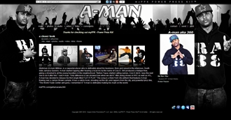 *A-Man aka 360 Electronic Press Kit Custom Design