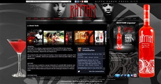*Rhythm Liqueur Electronic Press Kit Custom Design