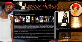 *Antoine Dodson's World Electronic Press Kit Custom Design