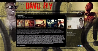 *Davo Fly Electronic Press Kit Custom Design