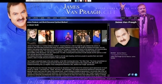 *James Van Praagh Electronic Press Kit Custom Design