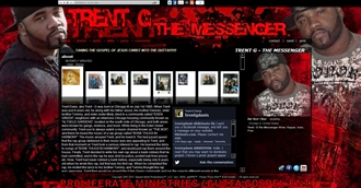 *Trent G Electronic Press Kit Custom Design